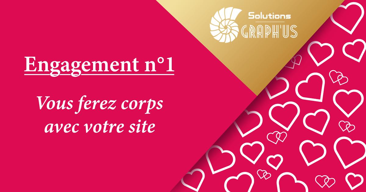 Blog Solutions Graph'us - Saint-Valentin : Engagement n°3