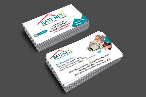 Bâti-Net - Carte de visite