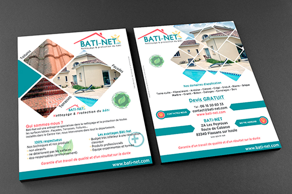 Bâti-Net - Flyer A4