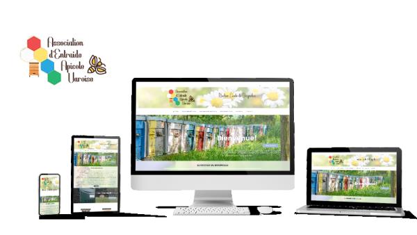 Réalisation du site AEAV - Rûcher École par Solutions Graph'us, agence web, création de sites et de logos  à Brignoles (83)