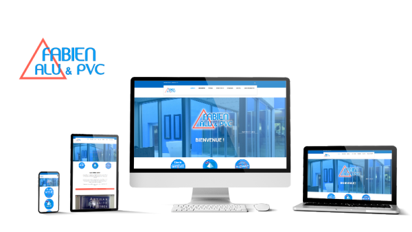 Réalisation du site Fabien Alu par Solutions Graph'us, agence web, création de sites et de logos  à Brignoles (83)