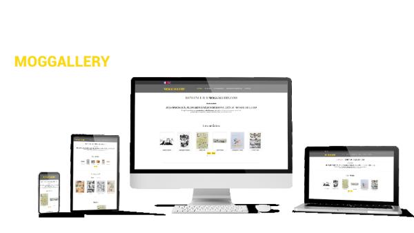 Réalisation du site Moggallery par Solutions Graph'us, agence web, création de sites et de logos  à Brignoles (83)
