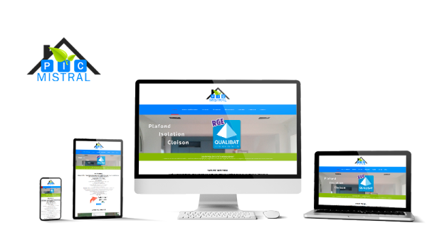Réalisation du site Pic Mistral par Solutions Graph'us, agence web, création de sites et de logos  à Brignoles (83)