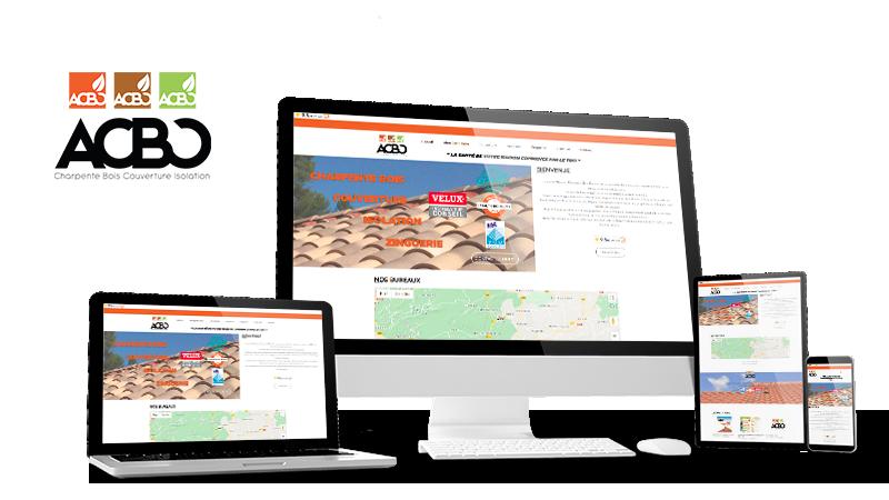 Réalisation du site ACBC par Solutions Graph'us, agence web, création de sites et de logos  à Brignoles (83)