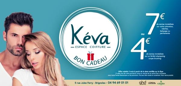 Création : flyer publicitaire Salon de coiffure