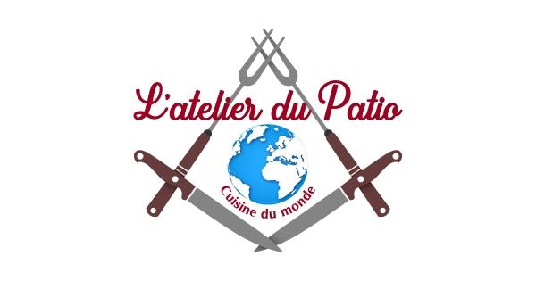 L'Atelier du Patio : Logo - Carte de visite - Flyer