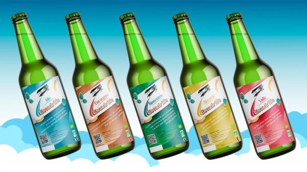 Les bières de L'Escadrille