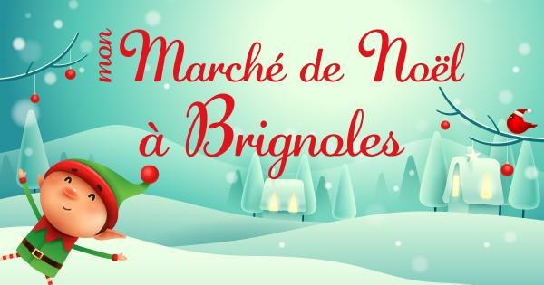 Mon Marché de Noël à Brignoles, en ligne...